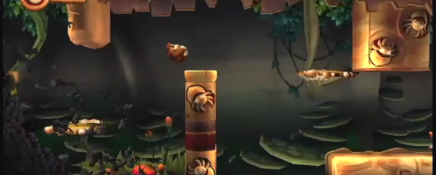 Check out this direct-feed video of a lot of Donkey Kong Country Returns levels.