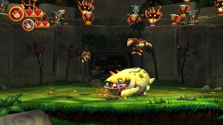 DKC Returns Screenshots | Donkey Kong Country Returns Wii